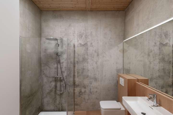 Nicolas Dahan, Bathrooms and Kitchens, Nicolas Dahan wooden villa,  villa en bois, photographie : © Vincent Leroux