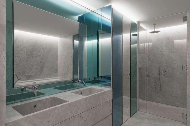 Nicolas Dahan, Bathrooms and Kitchens, Nicolas Dahan moscow apartment, appartement à Moscou, photographie : © Vincent Leroux