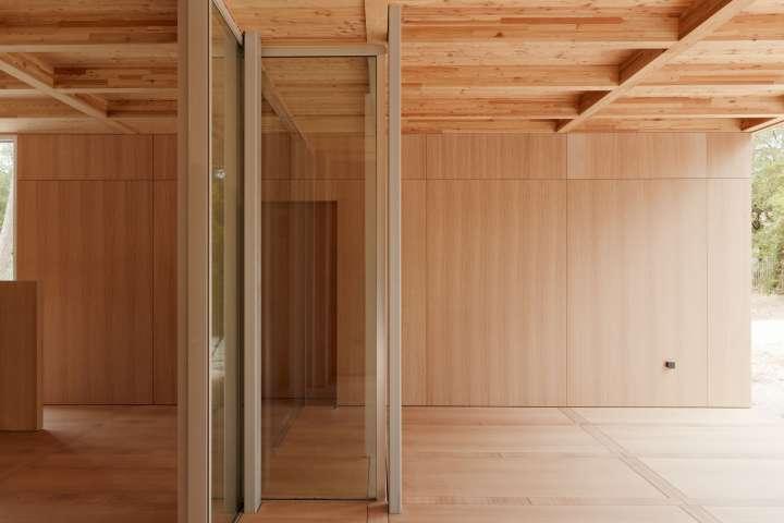 Nicolas Dahan, Ceilings and Floors, Nicolas Dahan wooden villa,  villa en bois, photographie : © Vincent Leroux