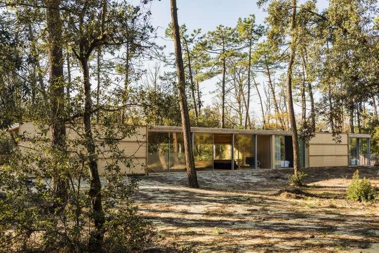 Nicolas Dahan, Wooden Villa, Nicolas Dahan wooden villa,  villa en bois, photographie : © Jean-Luc Guérin