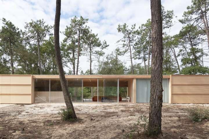 Nicolas Dahan, Wooden Villa, Nicolas Dahan wooden villa,  villa en bois, photographie : © Vincent Leroux