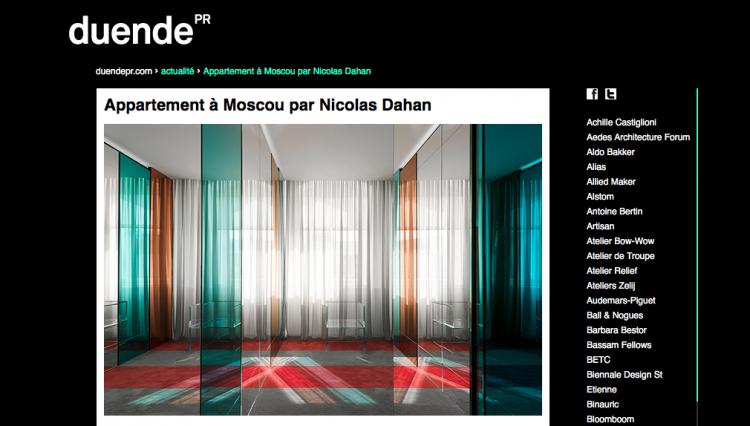 Nicolas Dahan, Press and Awards, Duendepr.com