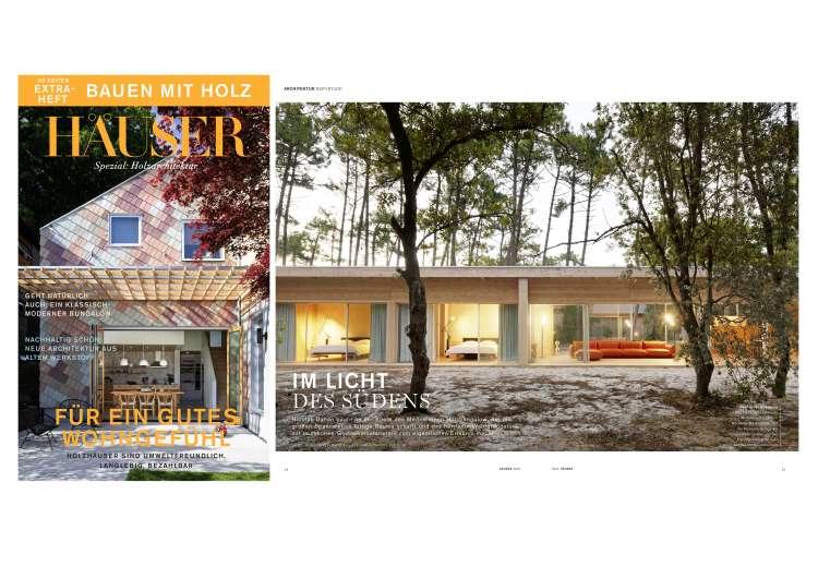 Nicolas Dahan, Press and Awards, HAUSER spezial- Holzarchitektur