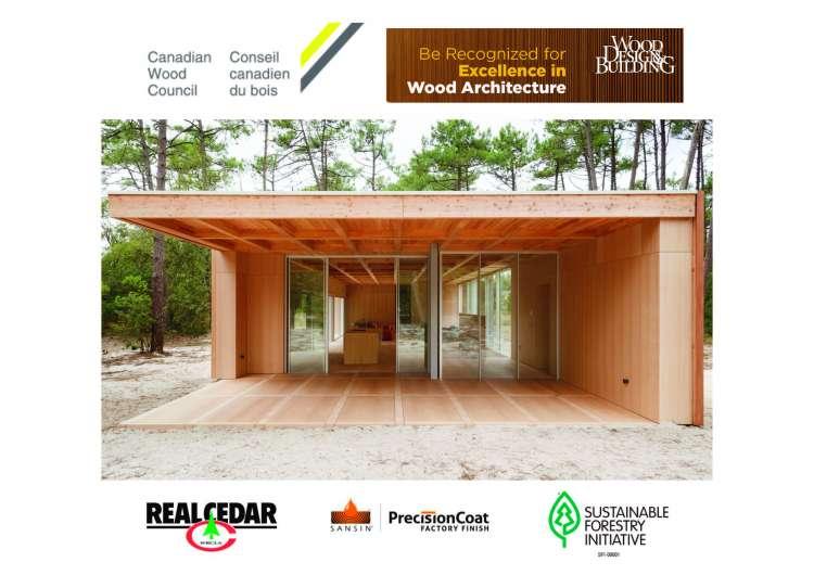 Nicolas Dahan, Press and Awards, Merit Award Winner Canadian Wood Council - Wood Design & Building Awards 2020