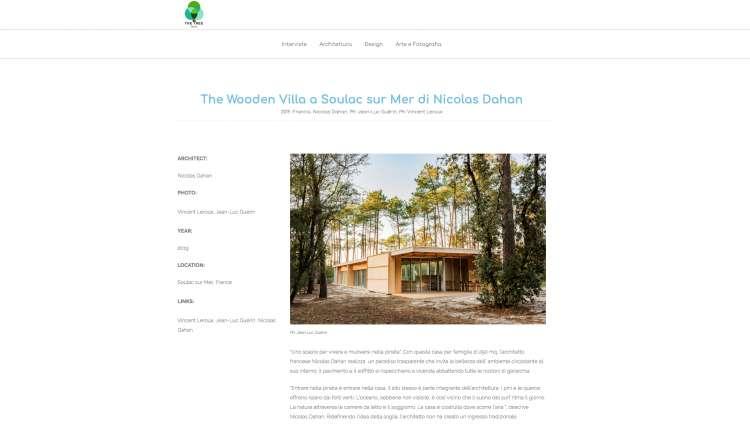 Nicolas Dahan, Press and Awards, The Tree Mag