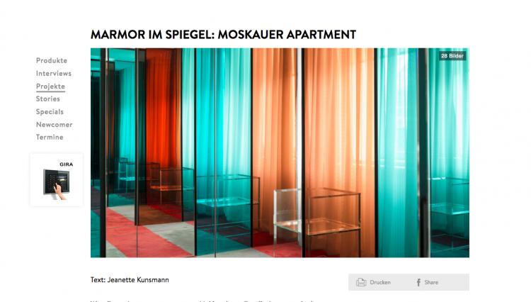 Nicolas Dahan, Press & More, Dear-magazine.de