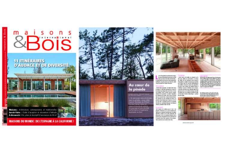 Nicolas Dahan, Press and Awards, maison & Bois n°155 août - septembre 2020, photographie : © vincent leroux
