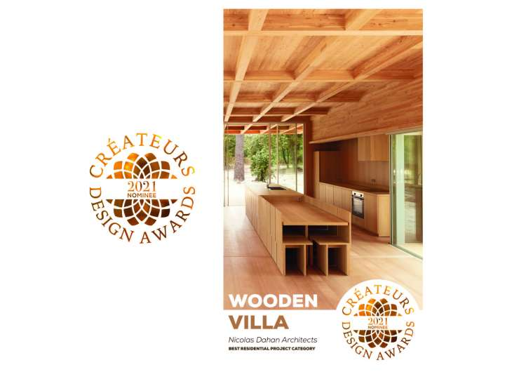Nicolas Dahan, Press and Awards, Créateurs Design Awards: Nominee Best Residential Project Category 2021