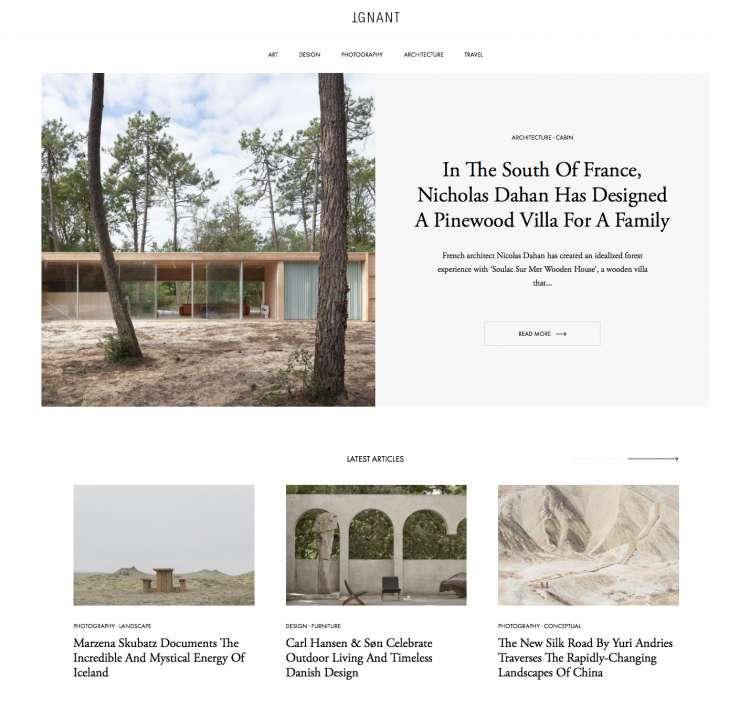 Nicolas Dahan, Press & More, Ignant
