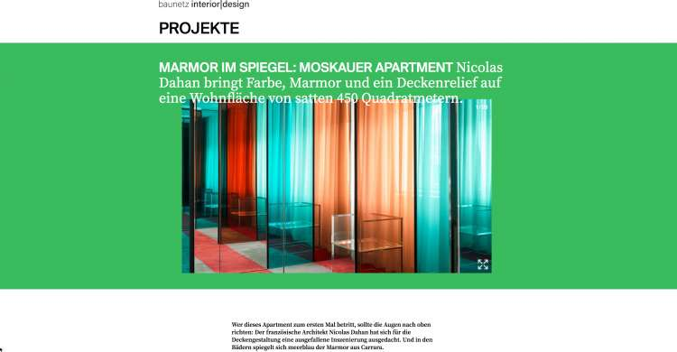 Nicolas Dahan, Press & More, Baunetz-id